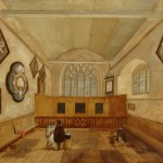 John Beckett, St Martin's Medieval Chancel, Dorking