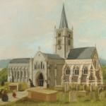 John Beckett. St Martin's Intermediate Church Exterior, Dorking