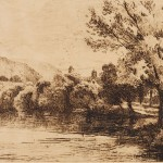 Charles Collins, Dorking Mill Pond