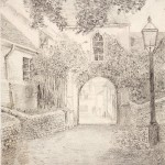 WH Dinnage, Rose Hill Arch, Dorking