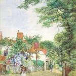 G Gardiner, The Royal Oak, Chart Lane, Blackbrook Dorking 1924