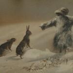 Denham Jordan, Scarecrow and two Hares