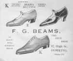 Beams Shoes Advert 1932