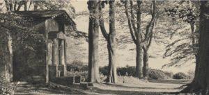 Deepdene Terrace and Temple, 1930 © Dorking Museum
