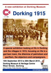 Dorking in 1915 Exhibition