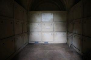 Inside the Hope Mausoleum 2015 © Mole Valley District Council