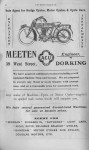 Meeten Advert 1913