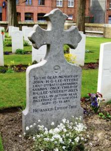 John Lee Steere Grave
