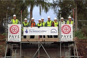 The Friends of Deepdene with PAYE workers 2015 © Mole Valley District Council