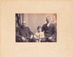 John Lee Steere and family